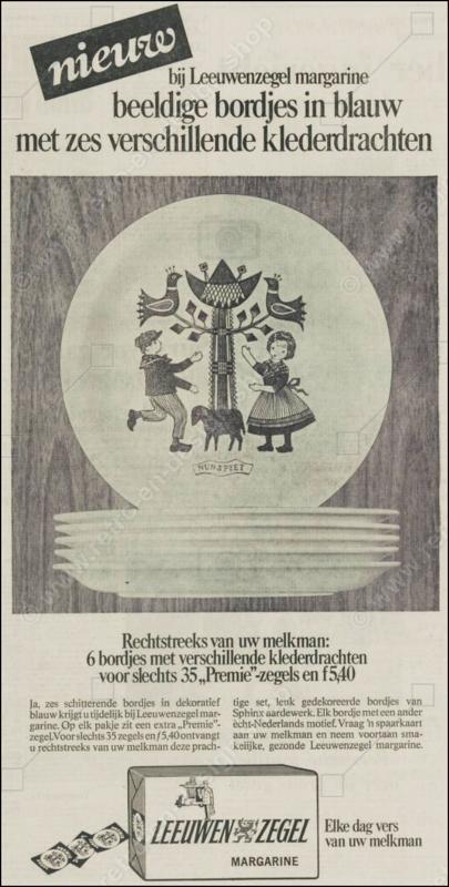 Regout boterhambordje van Royal Sphinx Maastricht, klederdracht Middelburg