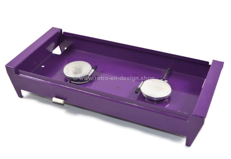 vintage brabantia rechaud oder tellerw rmer lila. Black Bedroom Furniture Sets. Home Design Ideas