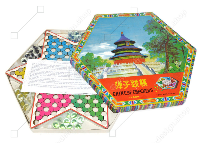 Chinese Checkers • Het Chinese knikkerspel