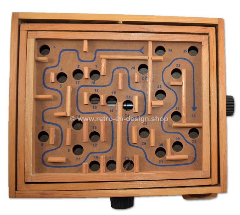 Vintage Houten Labyrint