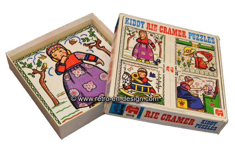 Rie Cramer Kiddy Puzzles 1973