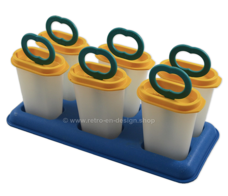 """Ice Tups"" - Ice lollies with holder, Tupperware ice cream maker"