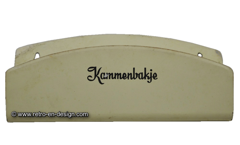 Brocante Brabantia '60s kammenbakje