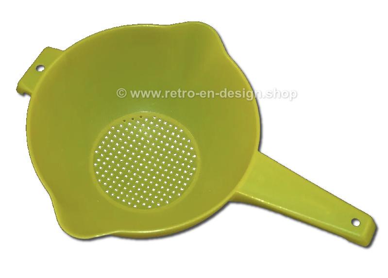 Tamis ou passoire Tupperware avec poignée, jaune 2 litres