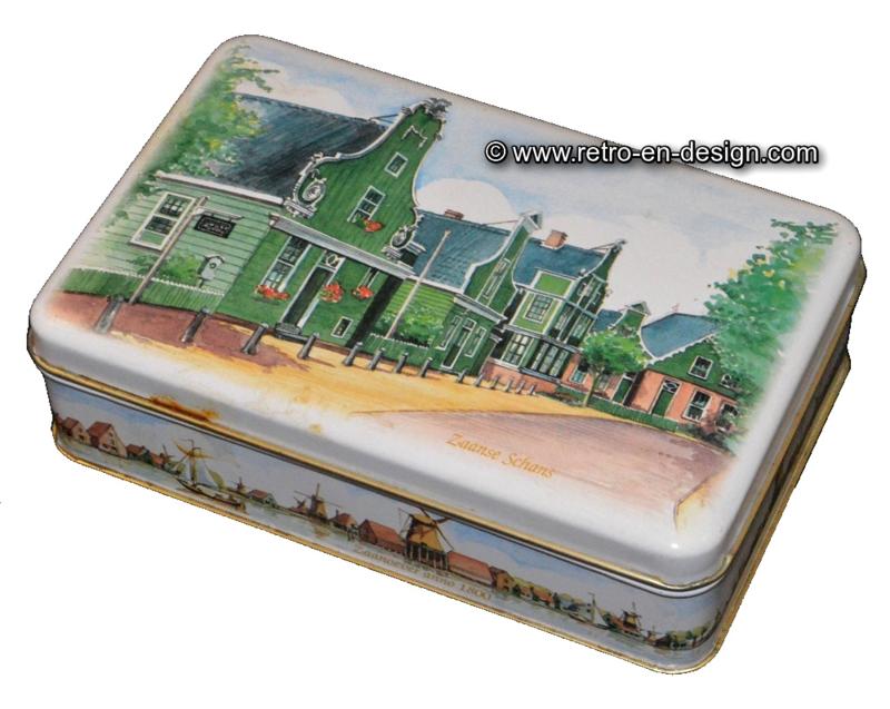 Vintage Blechdose Zaanse Schans, Zaanoever 1800