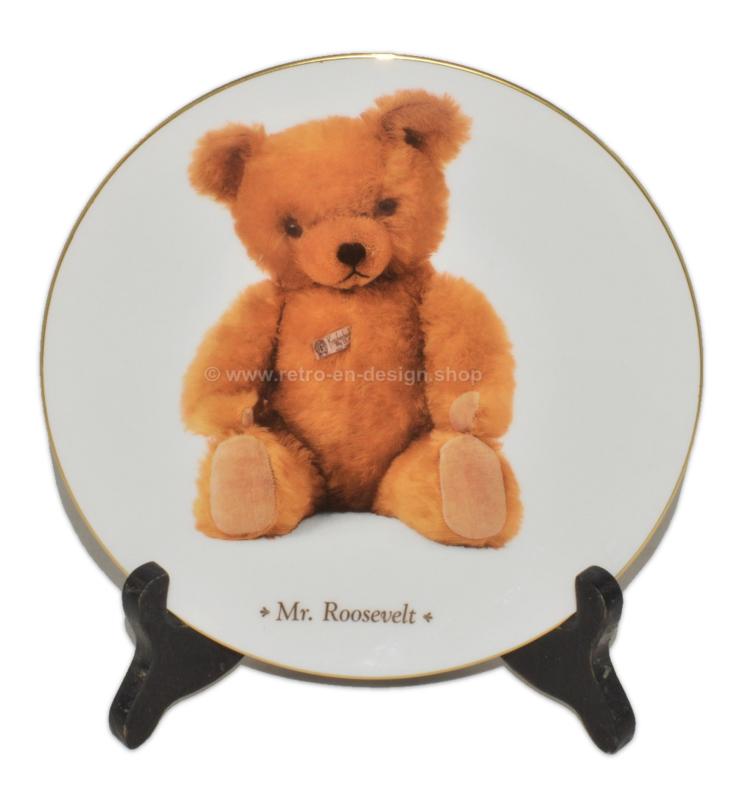 "Collectors Plate ""Mr. Roosevelt"" by DIE TEDDYBÄR Sammlerteller Edition"