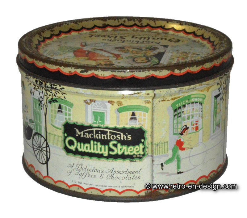 Vintage Candy Tin Mackintosh S Quot Quality Street Quot Recently