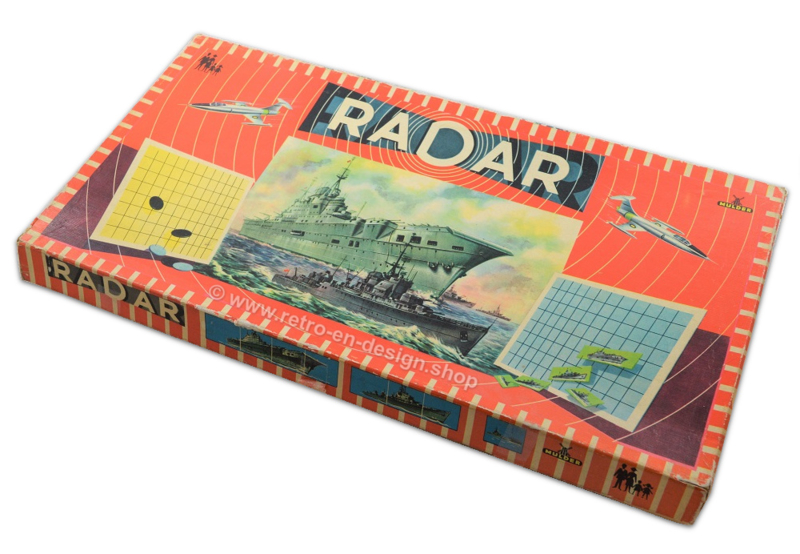 RADAR, a boardgame by Mulder from the 1950s-1960s
