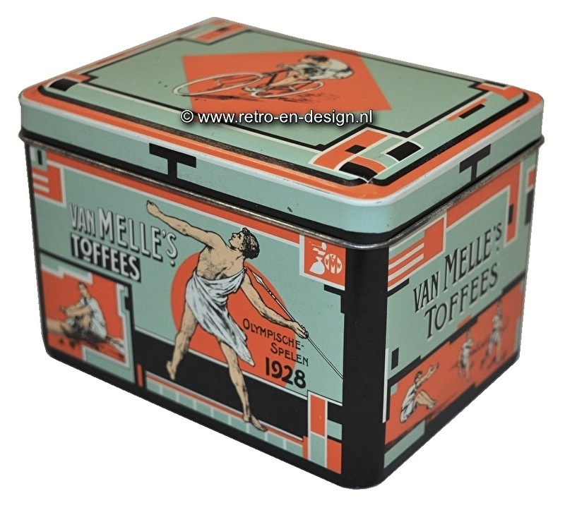 Tin van Melle's Toffees. Olympic games 1928.