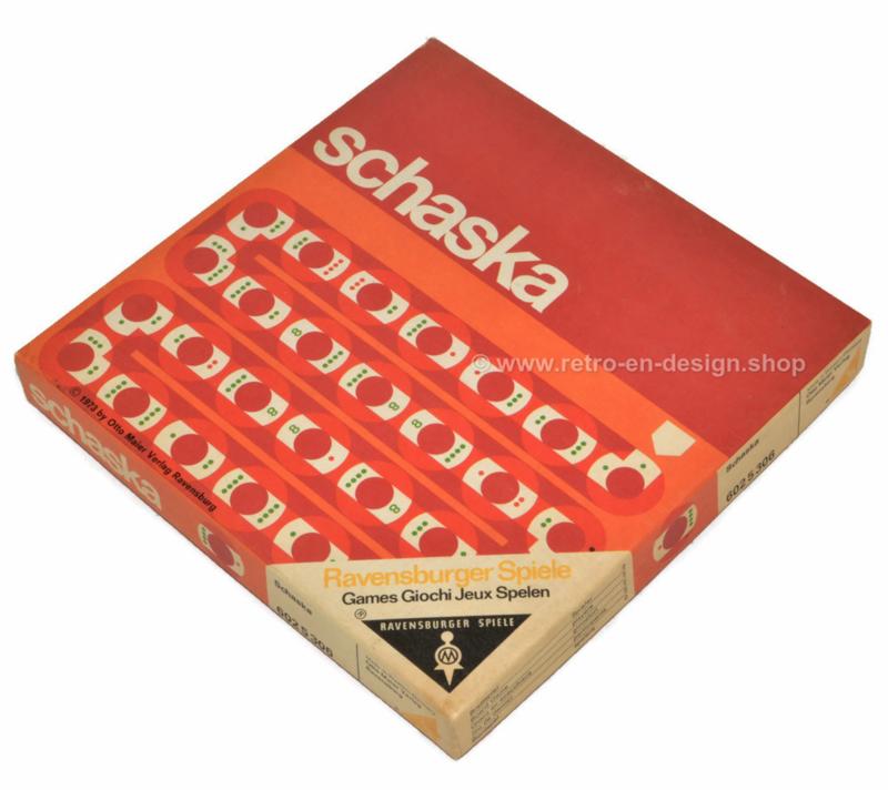Schaska, vintage Brettspiel von Ravensburger aus dem Jahr 1973
