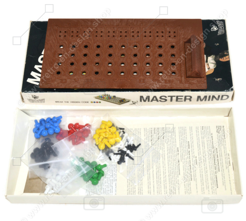 """Vic-Toy Mastermind """"Game of the Year"""" 1972"""