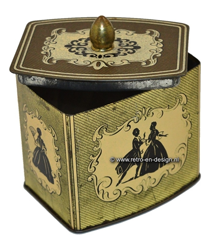 Vintage tin by Cote d'Or
