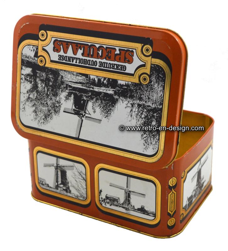 Vintage Blechdose für Speculaas von SRV