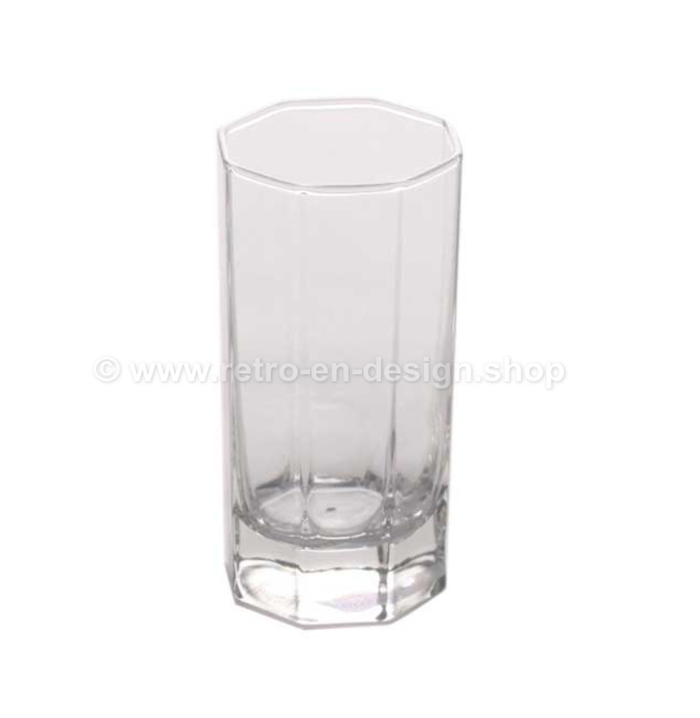 Vintage long Shot Glass by Arcoroc France, Luminarc Octime-Clear