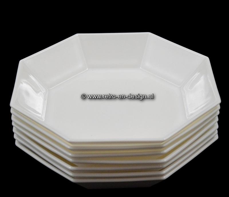 White Soup Bowl Arcoroc France, Octime