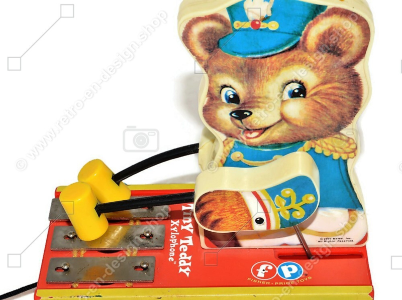 Retro Fisher Price Tiny Teddy Xylophone from 2005