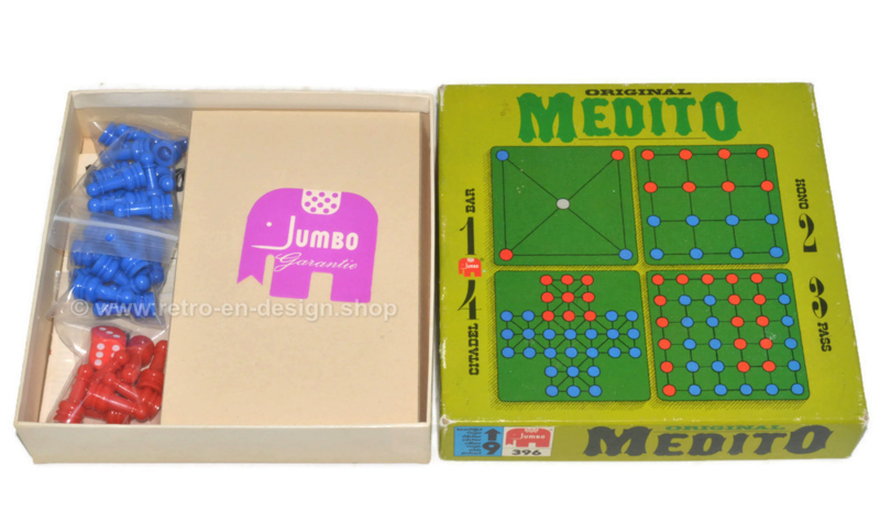 """Vintage game original """"Medito"""" by Jumbo from 1975"""