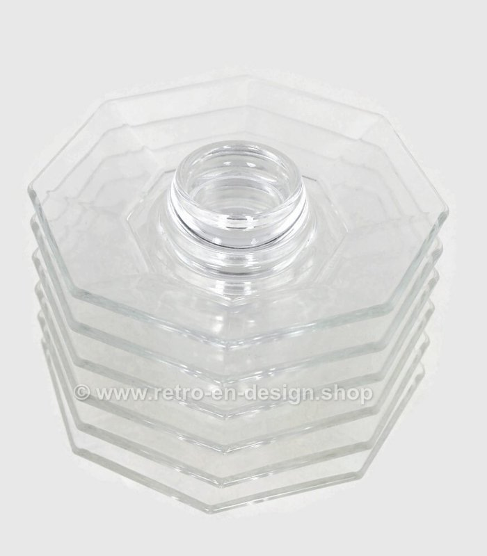 Clear glass egg cup by Arcoroc France, Octime-Clear Ø 14 cm