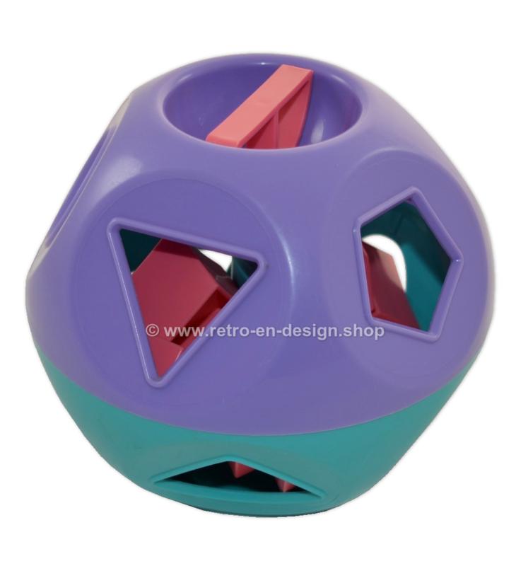 Tupperware Shape-O-Toy / Boule des formes, jouet vintage