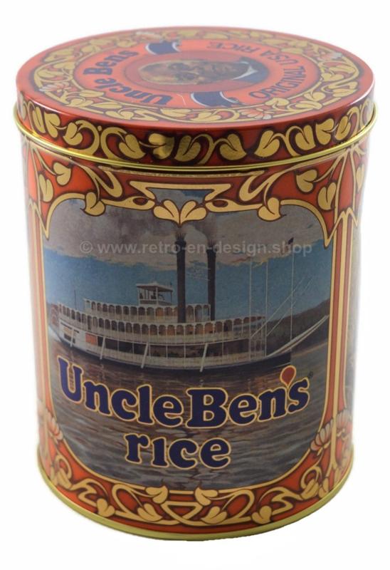 'Uncle Bens Rice' Boîte de conserve vintage pour stocker le riz