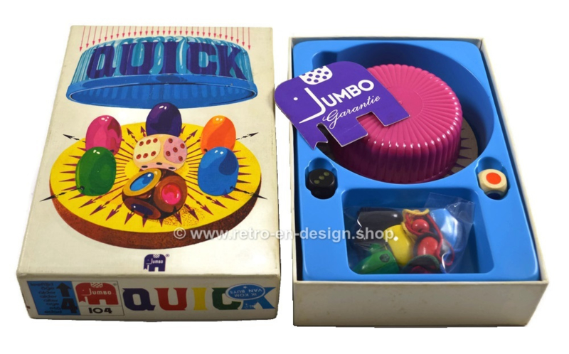 Quick * Jumbo * 1972 * Vang de muis