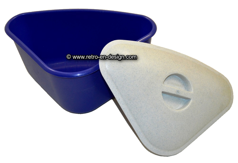 tupperware all in one alles in einem blau wei verkauft retro design 2nd hand. Black Bedroom Furniture Sets. Home Design Ideas