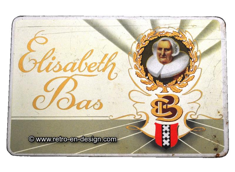 Vintage sigarenblik Elisabeth Bas