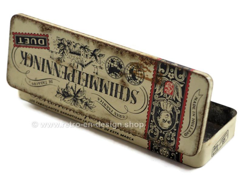 Oud vintage jaren 60 blikje voor sigaren van Schimmelpenninck DUET