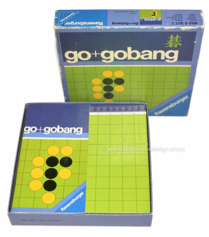 Go+Gobang, vintage Ravensburger Brettspiel von 1974