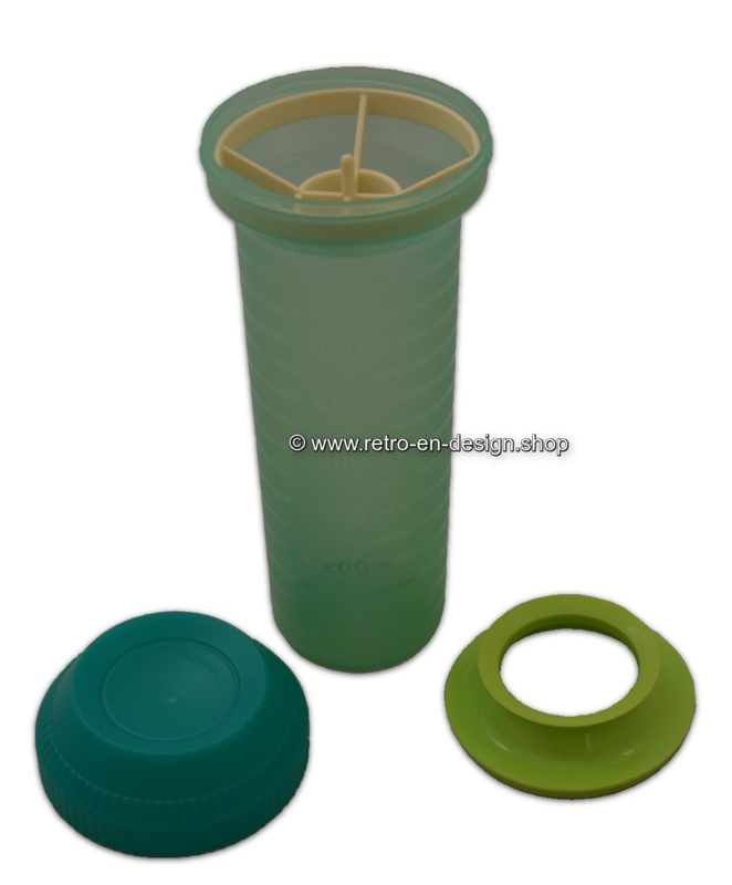 Mix Max Große Tupperware Schüttler / Shaker 750 ml. Minzgrün