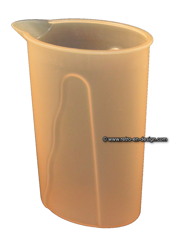 Vintage Tupperware water pitcher