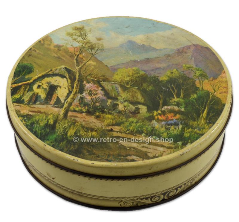 Vintage tin for Enterprise biscuits