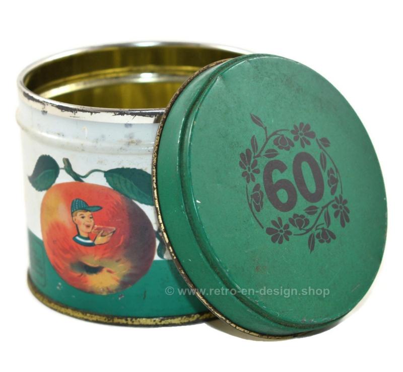Vintage blik rinse appelstroop van Solberg-Diederen