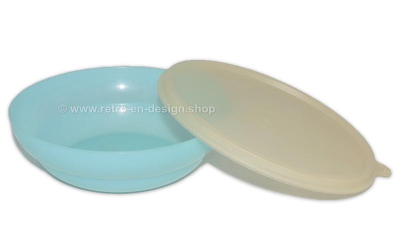Vintage Tupperware Tazón de cereal de color pastel, azul