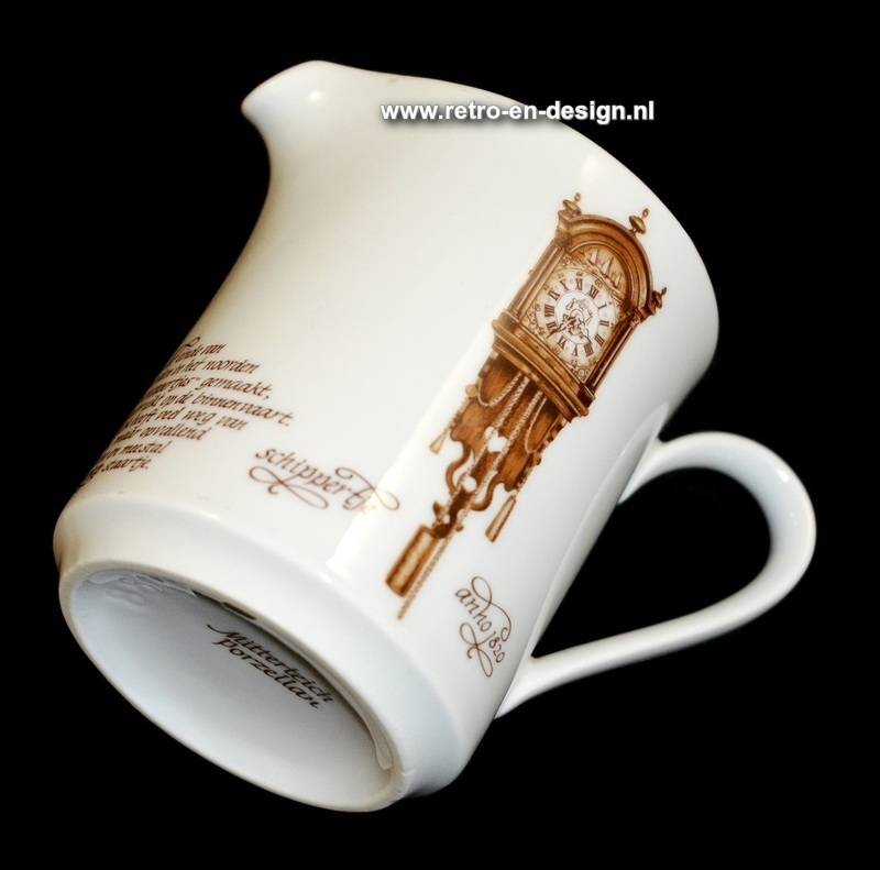 Mitterteich Creamer. 'Clocks Dinnerware' by Nutroma