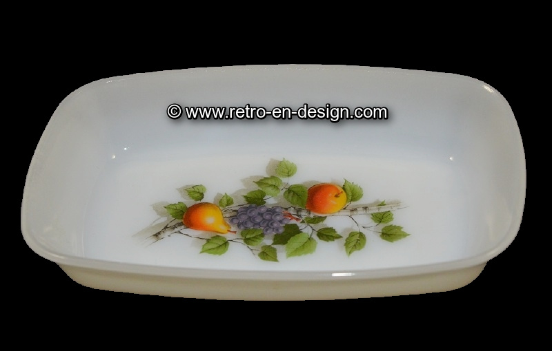 Rechthoekig schaaltje Arcopal Fruits de France