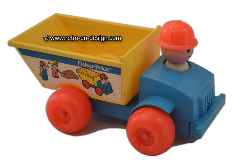 Vintage Fisher Price kiepwagen