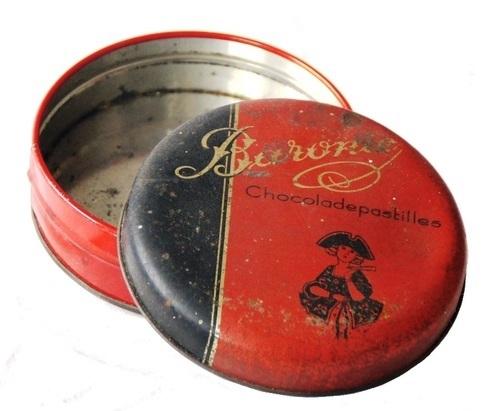 Blik Baronie chocoladepastilles