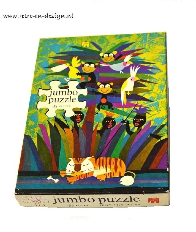 Jumbo Jigsaw puzzle / puzzel Vintage