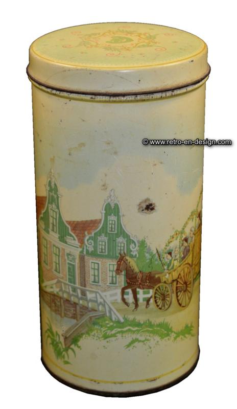 Vintage koekblik Albert Heijn, Zaanse Schans