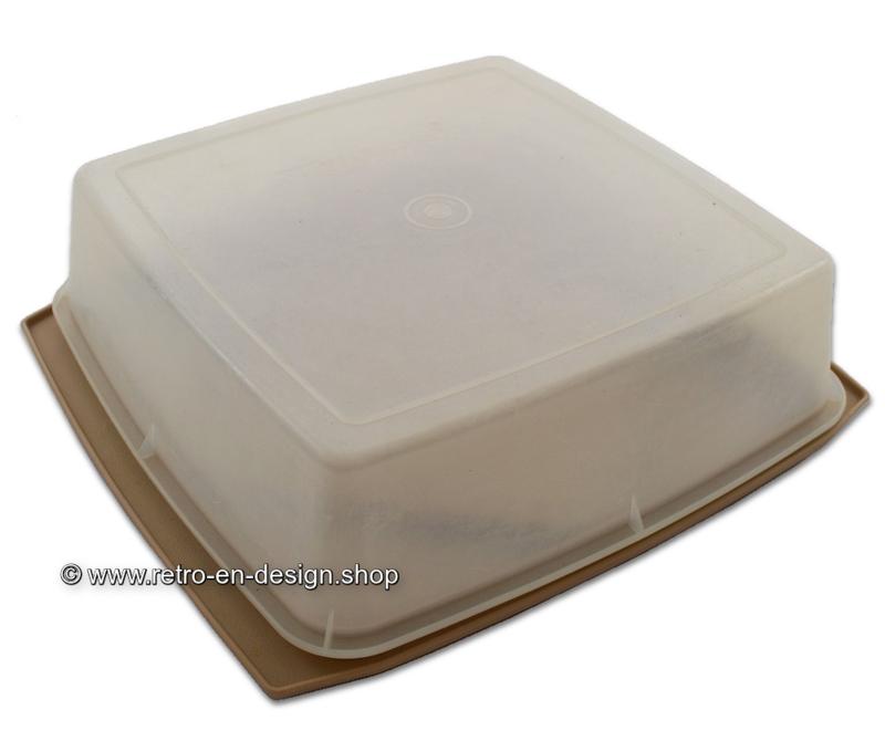 Vintage Tupperware 60s / 70s pastry box or storage box