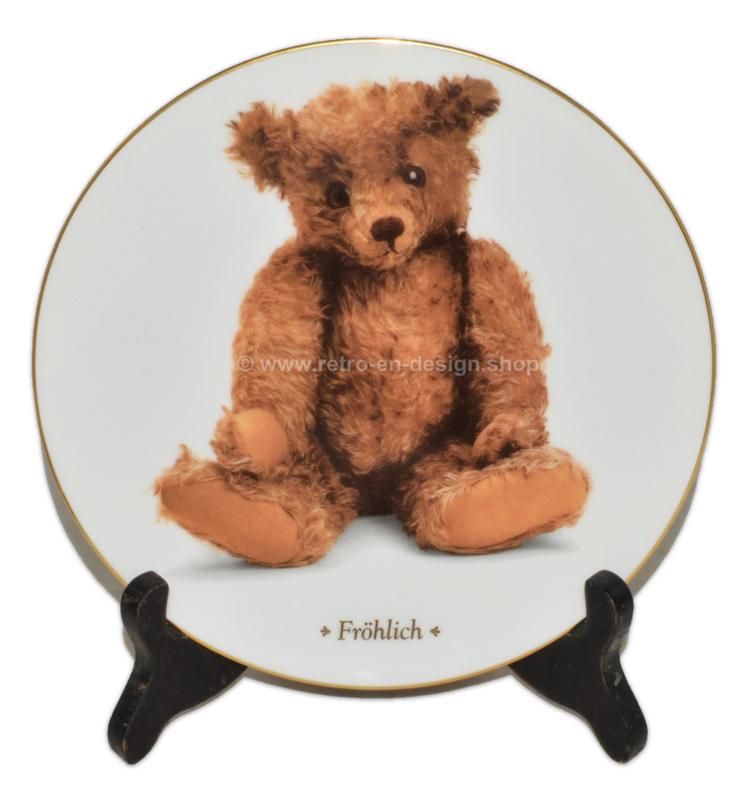 """Collectors Plate """"Fröhlich"""" by DIE TEDDYBÄR Sammlerteller Edition"""