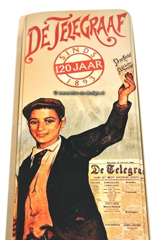 Blik 120 jaar De Telegraaf