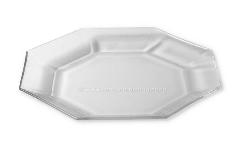 Ontbijtbordje, boterhambordje of saladebordje van Arcoroc France, Octime Clear Ø 18,2 cm