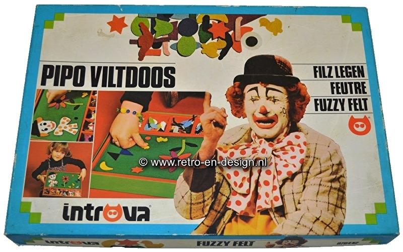 Pipo 'Viltdoos' Fuzzy Felt, Introva 1978