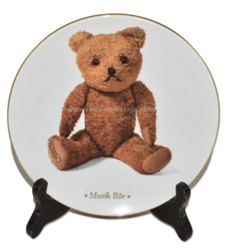 "Assiette de collection ""Musik bär"" de DIE TEDDYBÄR Sammelteller Edition"