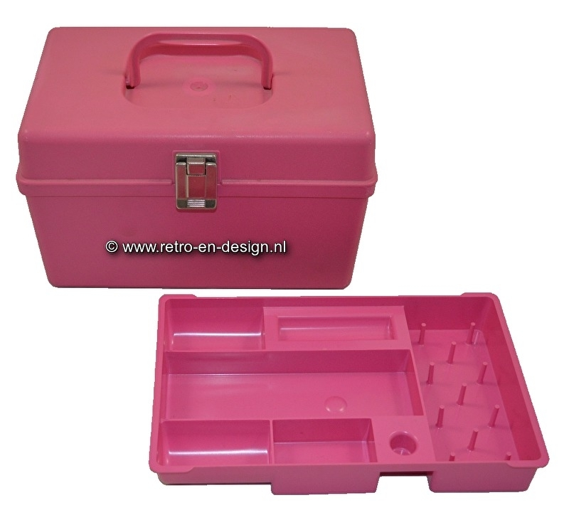 Smal modell of the curver Sewing Box