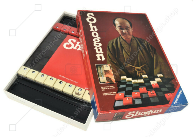 Shogun, vintage boardgame by Ravensburger from 1979