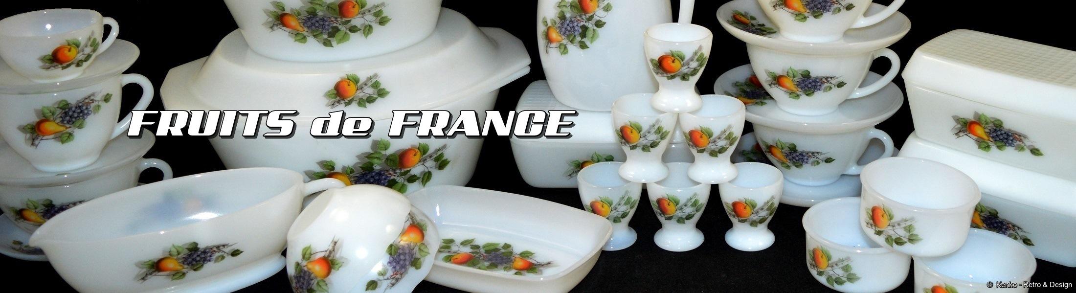 Arcopal Fruits de France