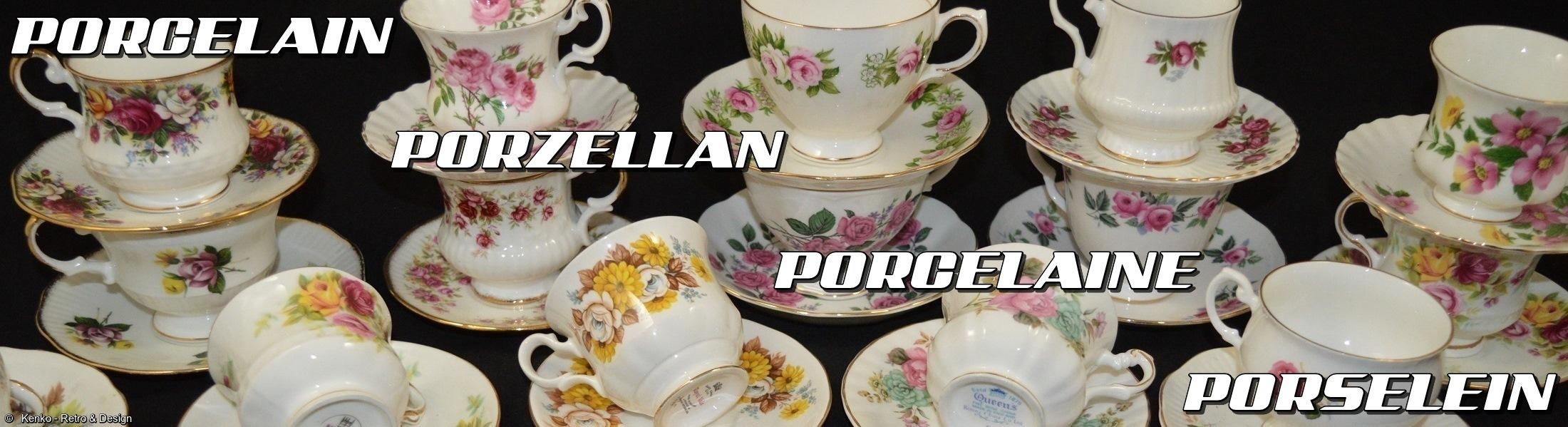 Porcelain Porzellan Porcelaine Porselein